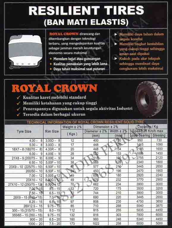 FORKLIFT ROYAL CRWON