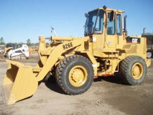 ban wheel loader caterpillar